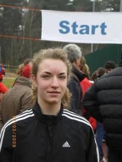 Tami vor dem Start in Ludwigsfelde