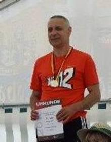 Deutscher Meister M55 über 100m Czeslaw Pradzynski
