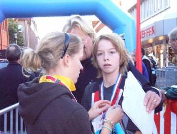 Sieger 5KM Schüler v.Kamp, TSV Bremervörde