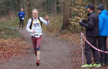Zi06: Heino Fiehnen siegte über die 2880m und wurde in 33:01 über die 7400m Zweiter der Senioren M55.