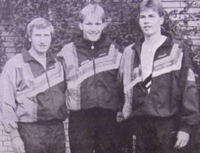 Deutschlands erfolgreichste Familienmannschaft Hans-Hermann Neblung mit Jörg und Ulf