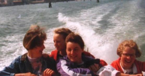 Bootsfahrt in Venedig