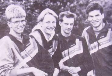 v.l.n.r.: Jens Dohrmann, Jörg Neblung, Rainer Dohrmann und Ralf Dittmer
