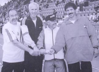 WM-Bronzemedaille für Helmut Meier 4x100m Staffel M45