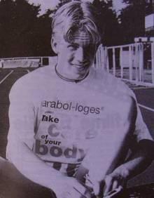Timm Müller Landesmeister m.J.B über 400m in 51,43 sec.