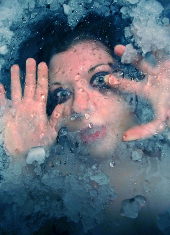 Trapped Below the surface - Stunning Under Water Photography