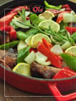 Крехко телешко Риоха - приготвено на място, с печени зеленчуци и ароматни подправки