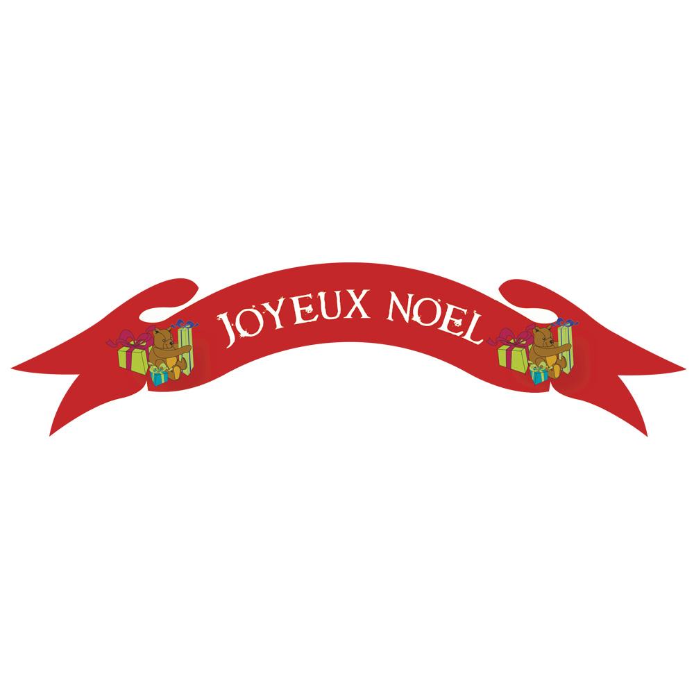 Bannires Carton Rouge Joyeux Nol Ourscadeaux Laval Europe