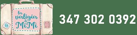 Logo La Valigia di MiMì + Telefono