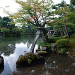 KANAZAWA – Nel magnifico giardino giapponese di Kenroku-en