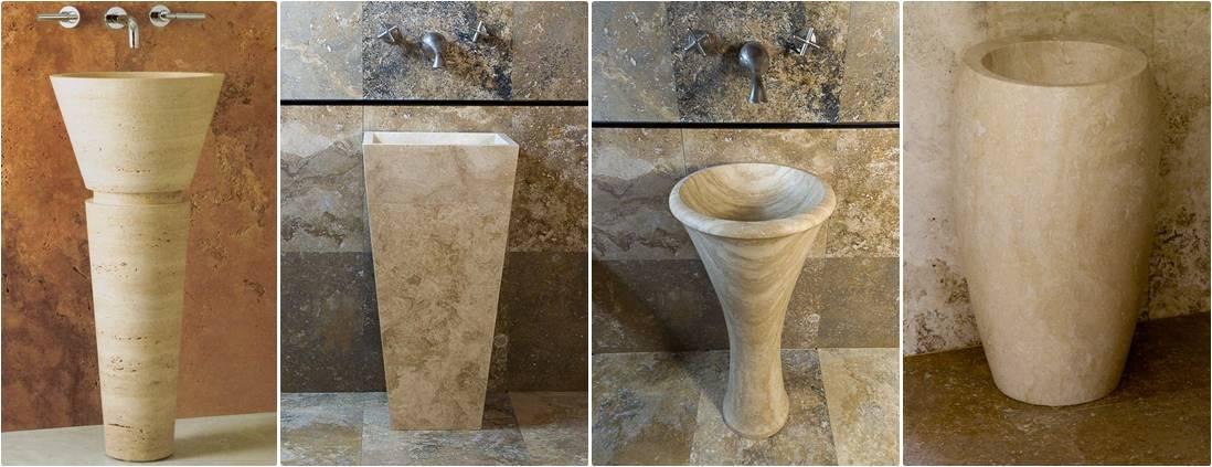 Lavandini a colonna  Lavandino in Marmo