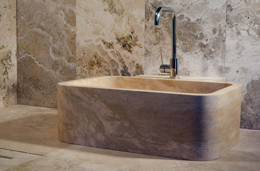 Lavabo cucina in pietra o marmo  Lavandino in Marmo