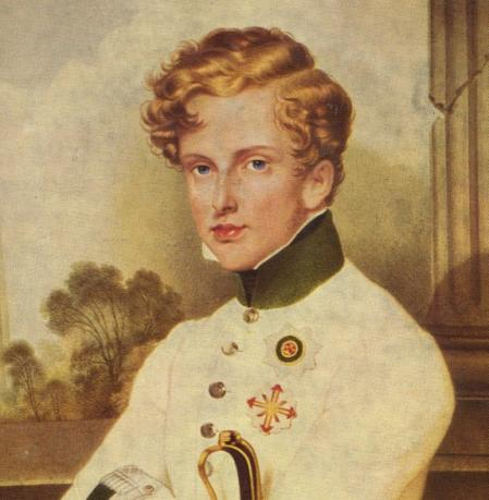 El joven Napoleón II.