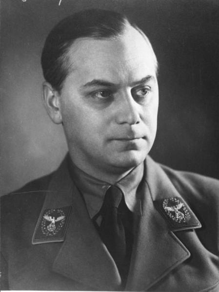 Alfred Rosenberg, uno de los importantes miembros de la Sociedad Thule.