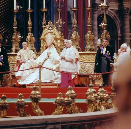 Fotografía de Pablo VI.