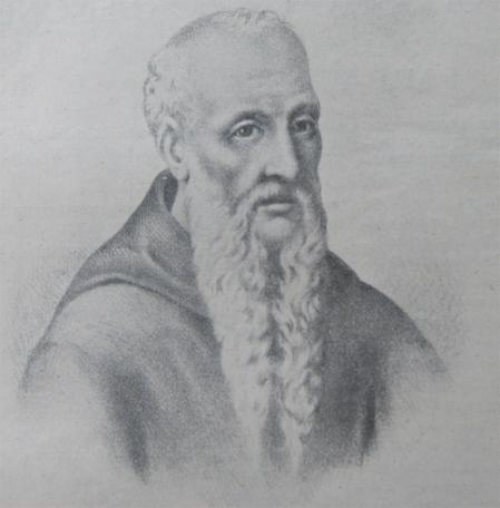 Retrato de Odorico de Pordeone.