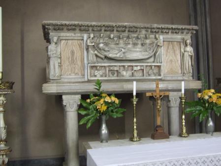 Tumba de Odorico en Udine.