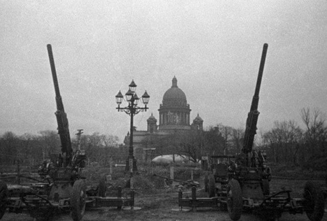 El asedio de Leningrado