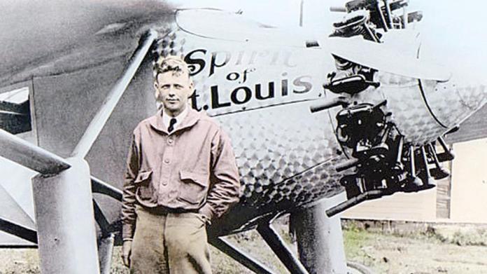 Charles Lindbergh, solo frente al Atlántico