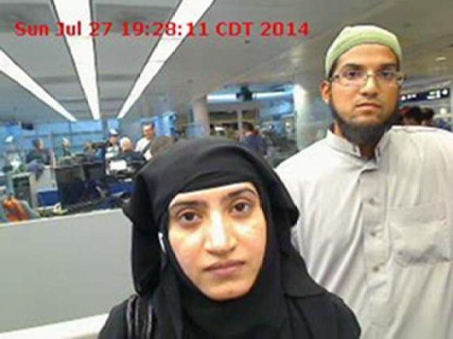 Syed Farook y su esposa Tashfeen Malik son los autores materiales del atentado en San Bernardino