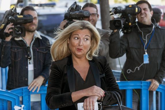 Virginia Lopez Negrete, la abogada de Manos Limpias en el juicio Noos, , EFE/Cati Cladera