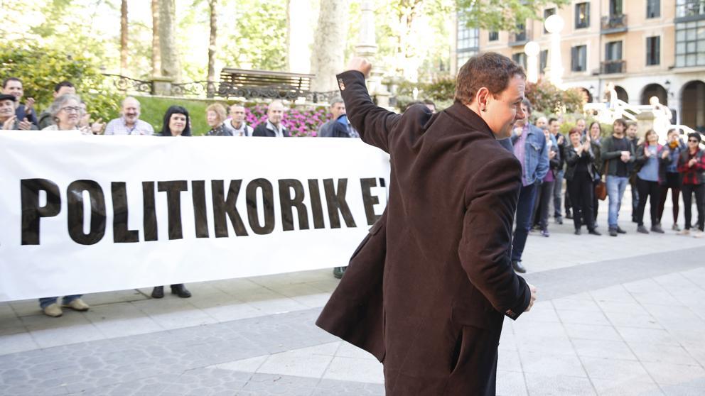 Arraiz asume la acusación de pertenencia a ETA tras un acuerdo para evitar el ingreso en prisión