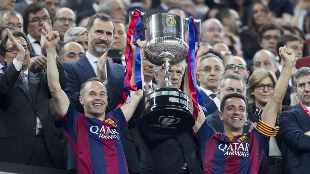 El Barça, a un paso de su séptimo doblete