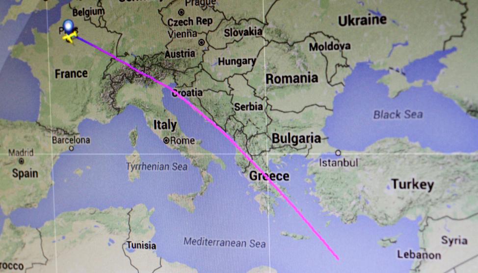 Avión desaparecido de EgyptAir: Última hora