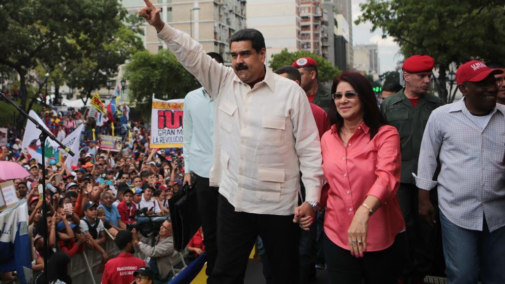 """""""En España hace falta un Maduro, carajo, porque Maduro es muy majo"""""""