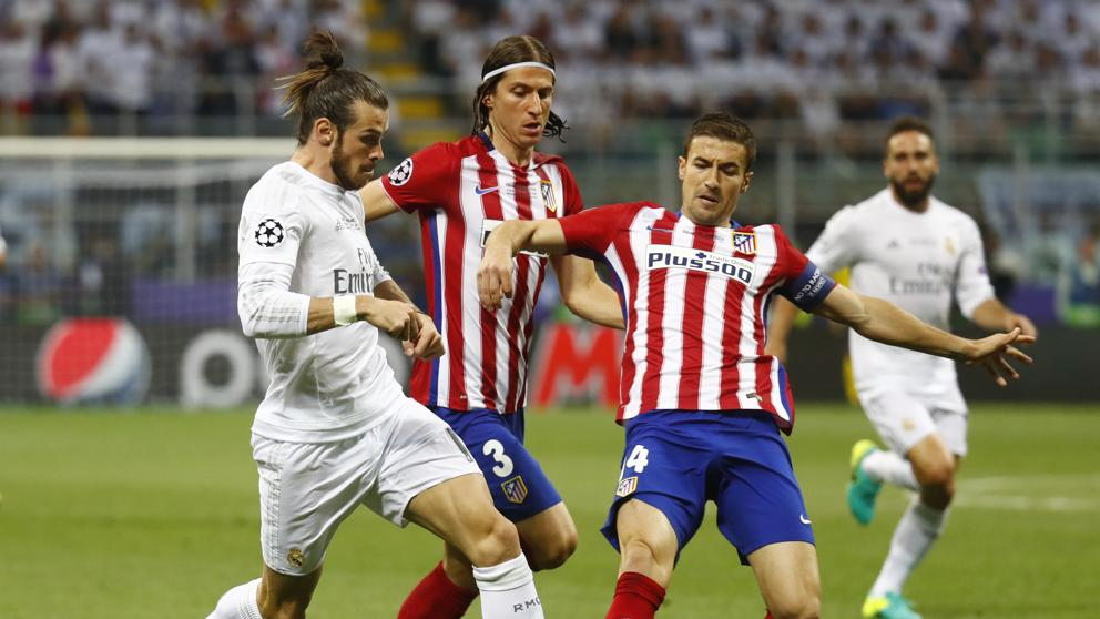 Resultado de imagen de goles atlético madrid contra real madrid