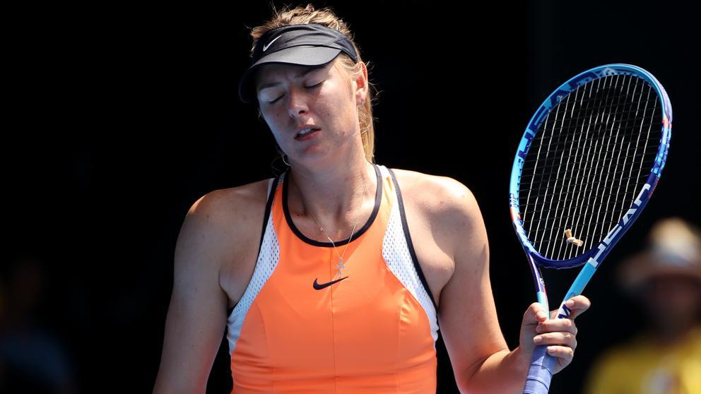 Maria Sharapova, suspendida dos años por dopaje