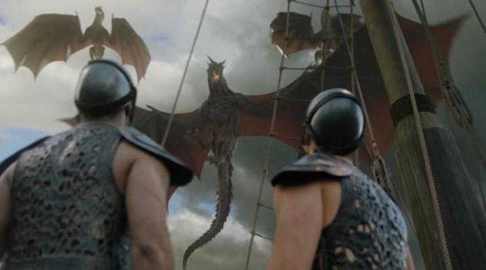 Tres dragones sí son un arma de destrucción masiva.