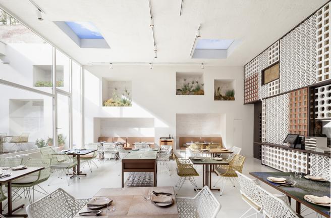 El restaurante Disfrutar, un diseño de Equipo Creativo