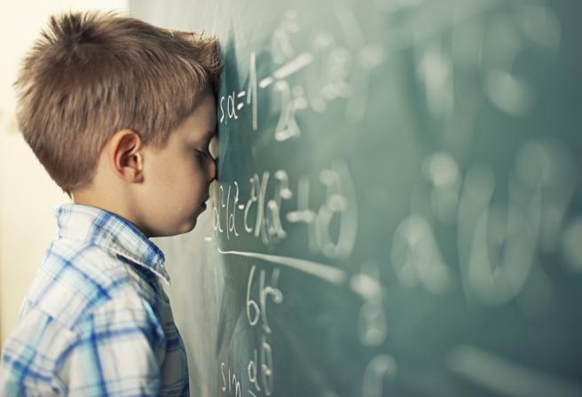 A menudo se confunden las habilidades matemáticas con la superdotación.