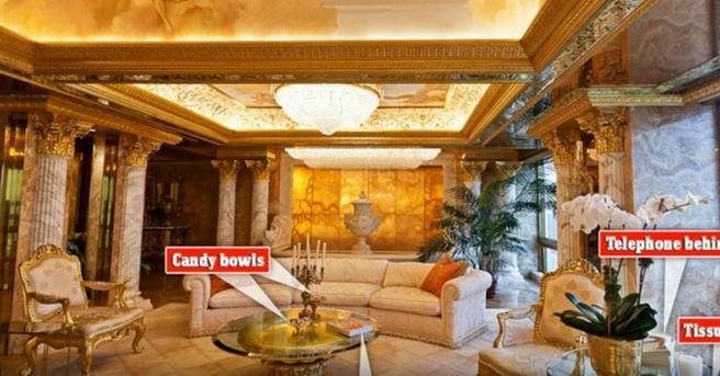 As es el lujoso y exclusivo bnker de Trump en Nueva York