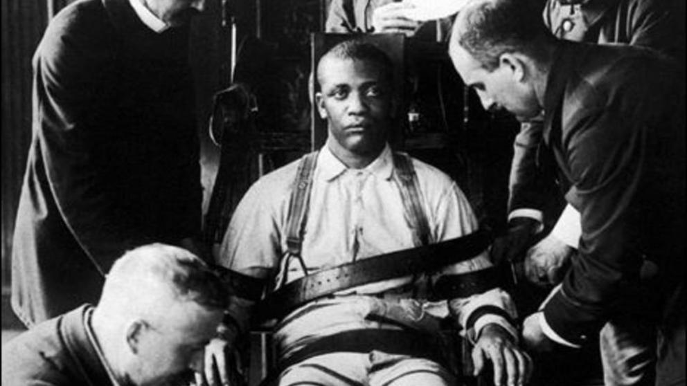 La silla elctrica inventada para matar