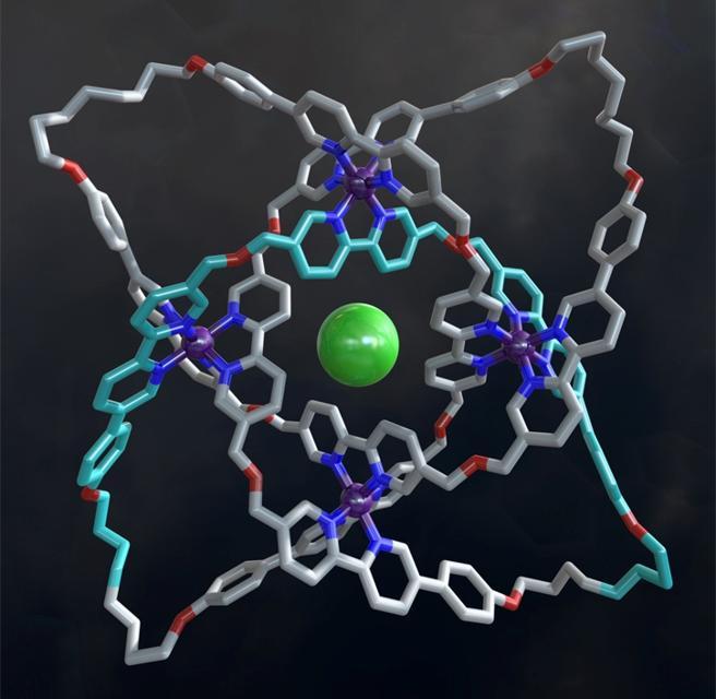 Esta nanotrenza es la primera estructura con tres hebras que se ha logrado sintetizar en el laboratorio