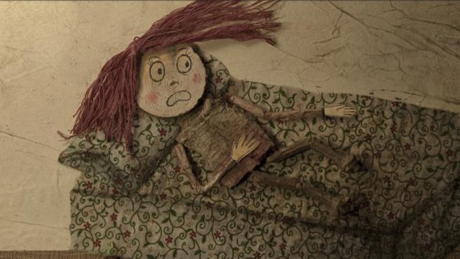 Ilustración del libro Clara y su sombra