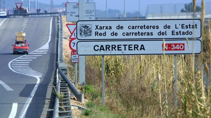 El Govern propone a Fomento eliminar los camiones de la N-340 en el Ebre, el Tarragonès y el Penedès