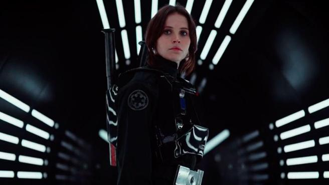 Felicity Jones es la protagonista de 'Rogue One: Una historia de Star Wars'