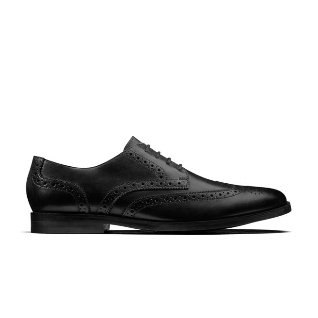 Zapatos Broyd Limit Black Leather
