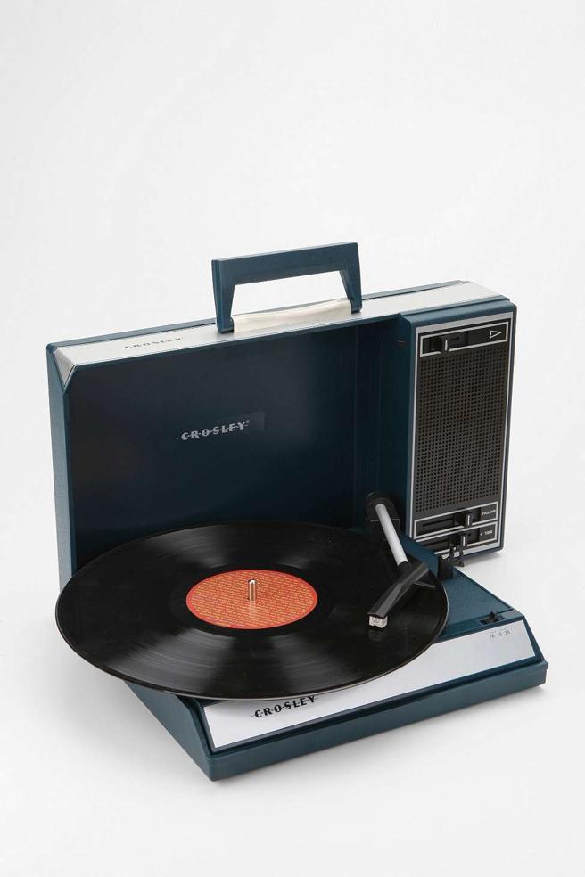 Tocadiscos de Crosley con entrada de USB (199 euros en Urban Outfitters)