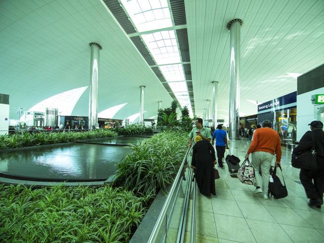 Interior del aeropuerto de Doha