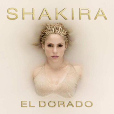 Portada de 'El dorado' de Shakira