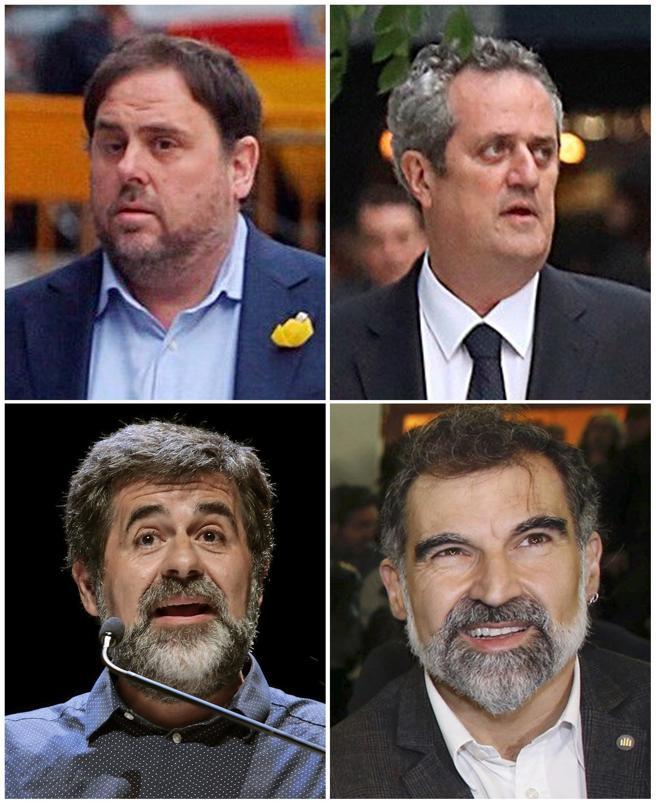 Junqueras, Forn, Sànchez y Cuixart siguen en prisión preventiva