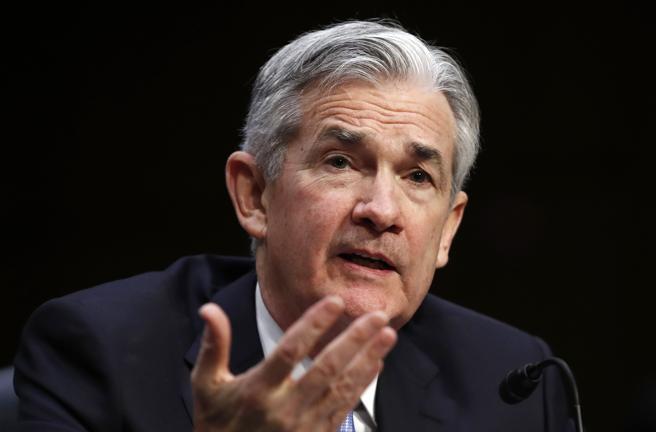 El futuro presidente de la Fed, Jerome Powell, testificando en Washington antes de ser avalado para el cargo