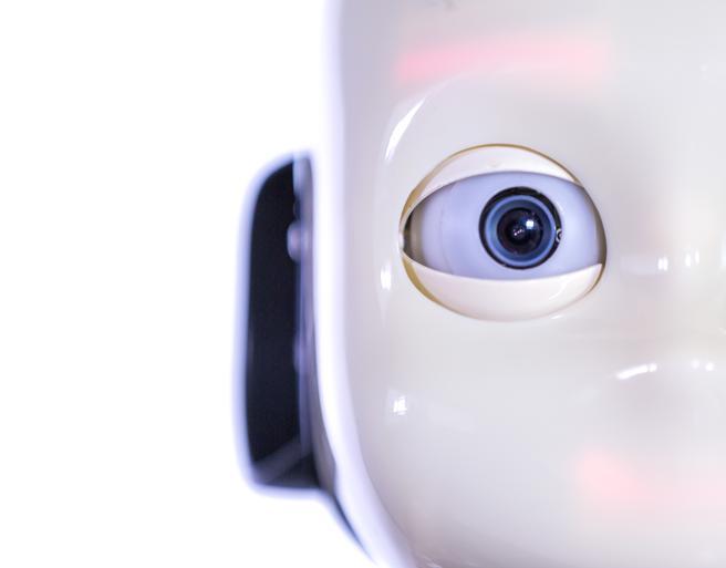iCub, un robot que representa un niño
