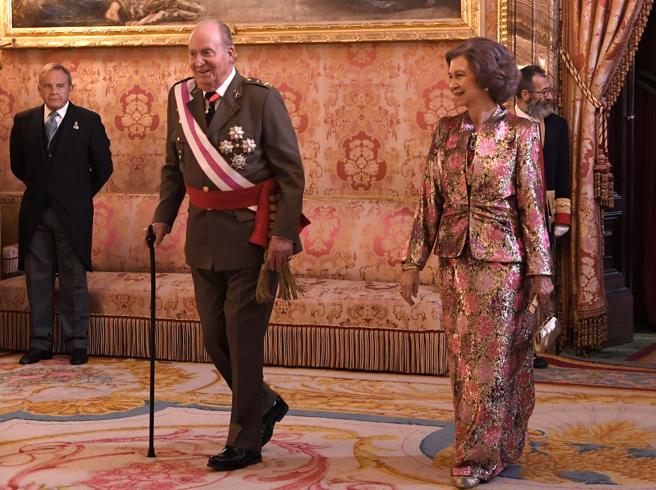 Los reyes eméritos, este sábado en la Pascua Militar