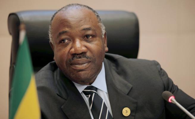 El presidente de Gabón, Ali Bongo, el 29 de enero de 2018.