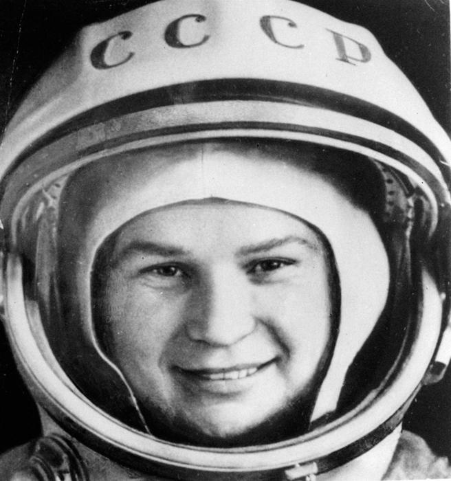 Valentina Teréshkova la primera mujer astronauta de la historia viajó al espacio en 1963